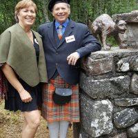Lisa McFarlane and Richard McBain